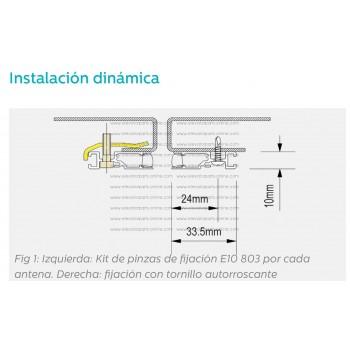 FUENTE DE ALIMENTACIÓN 110-230VAC/12VDC con relés  -  280 000