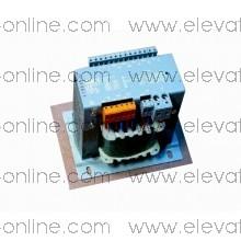 GAA225JK1- TRANSFORMADOR PRIMARIO OTIS  : 220/240/380/400/415V, SECONDARIO: 2 X113/110/24-22-20-24V, RATING: 757VA