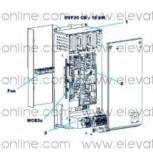 GAA21344C1- VARIADOR OTIS 15KW OVF20CR