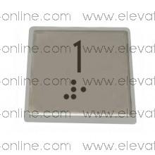 PLAQUITA PULSADOR STEP MODUL ( 1 )
