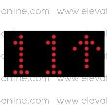 DISPLAY THYSSEN  MILLENIUM LCD PROGRAMABLE INDICADOR DE PISO