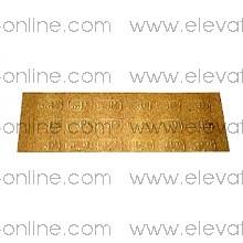 ADHESIVOS BRAILLE SCHINDLER PLANTA -6 A 27 - 59321634
