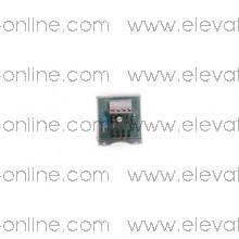 PULSADOR THYSSEN 1 Led 24v Cinza Acion. S100