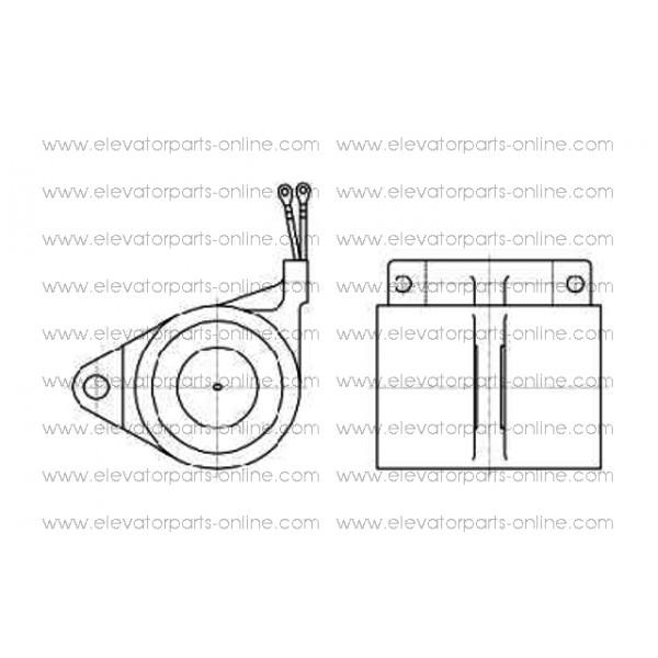 brake coil otis 13vtr - to330