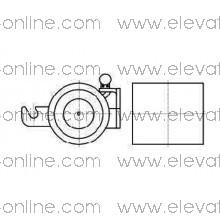 BRAKE OTIS 140VAT (110V) - TAA330AP1